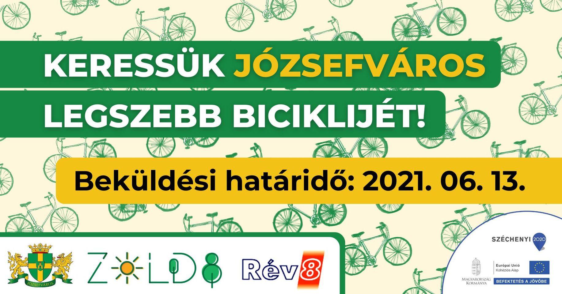 Keressük a kerület legszebb biciklijét!